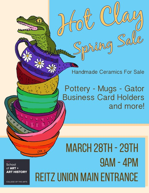 Hot clay spring sale events college of the arts hot clay spring sale reheart Choice Image
