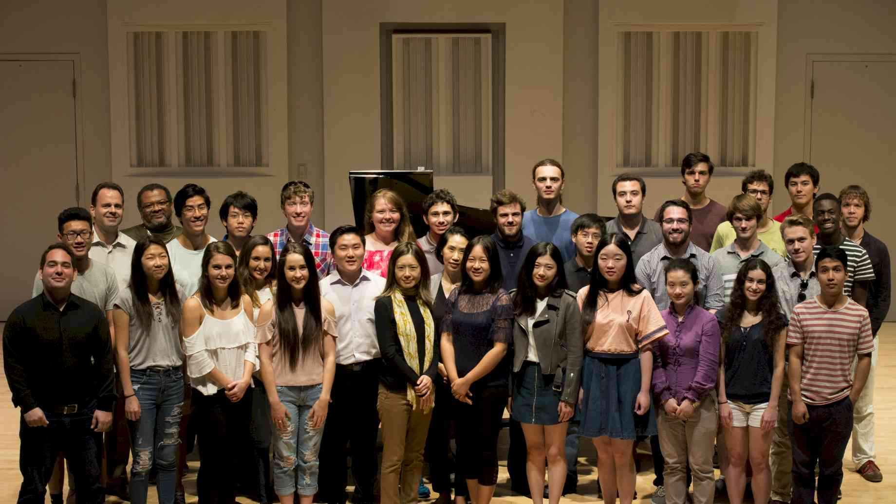 University of Florida Piano Studio Fall 2017