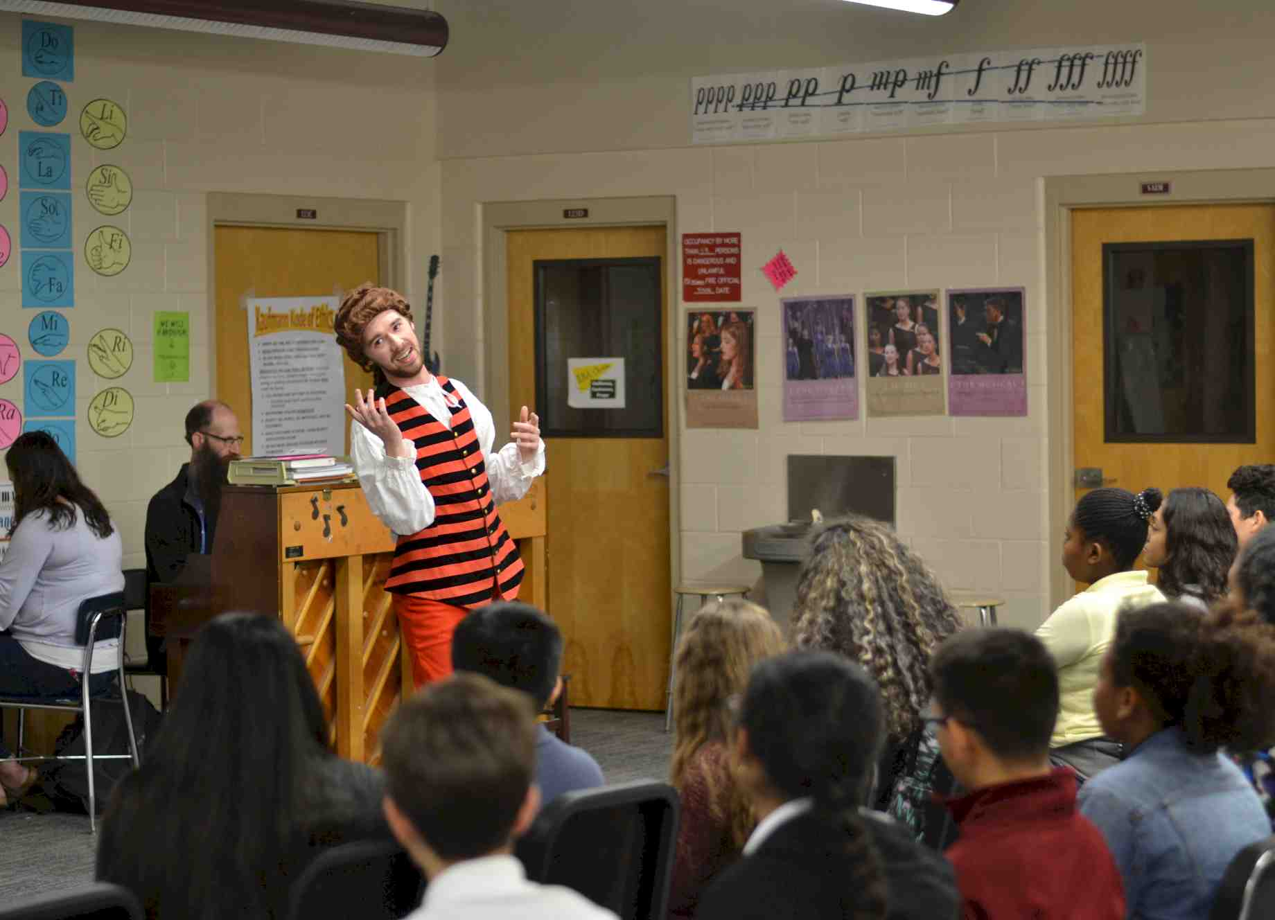 UF Opera Theatre\'s newest fans: middle school students ...