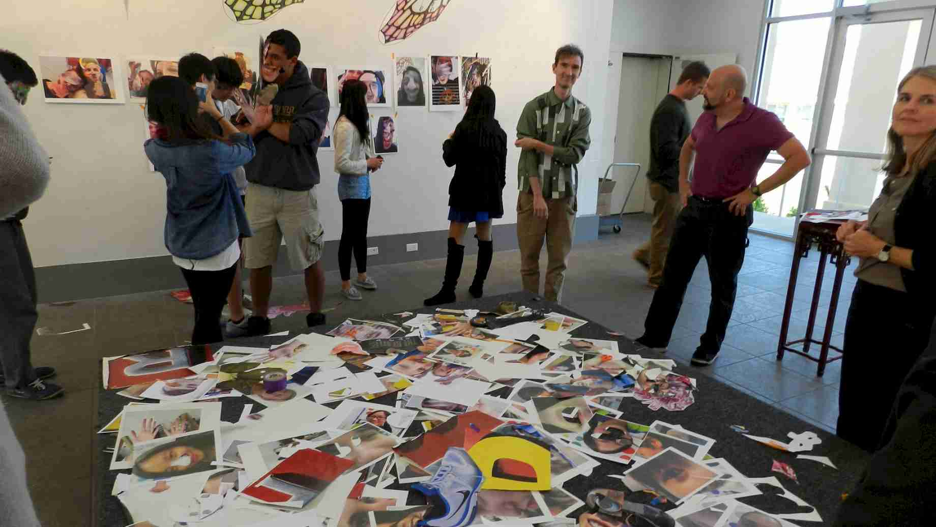 In 2013, UF art education students collaborated with contemporary artist Oliver Herring and students at Oak Hall School in Gainesville.