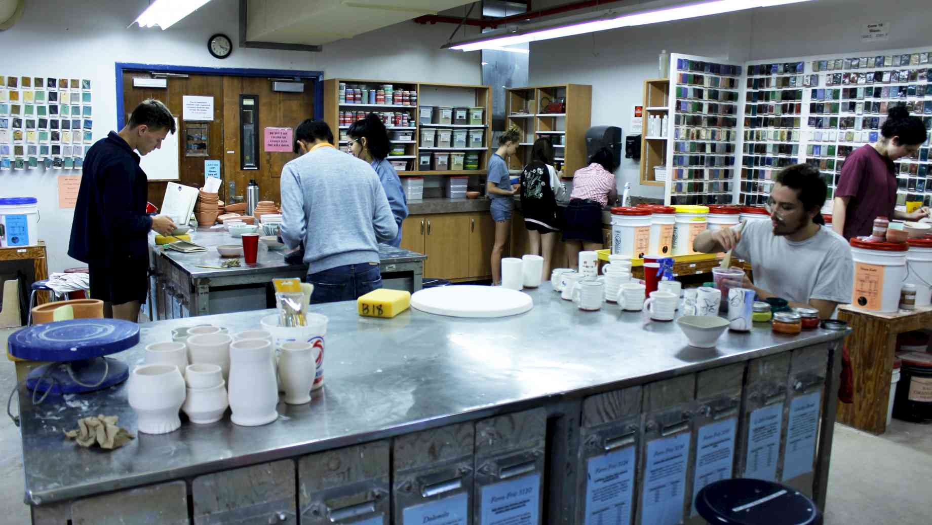 Ceramic Glaze Lab