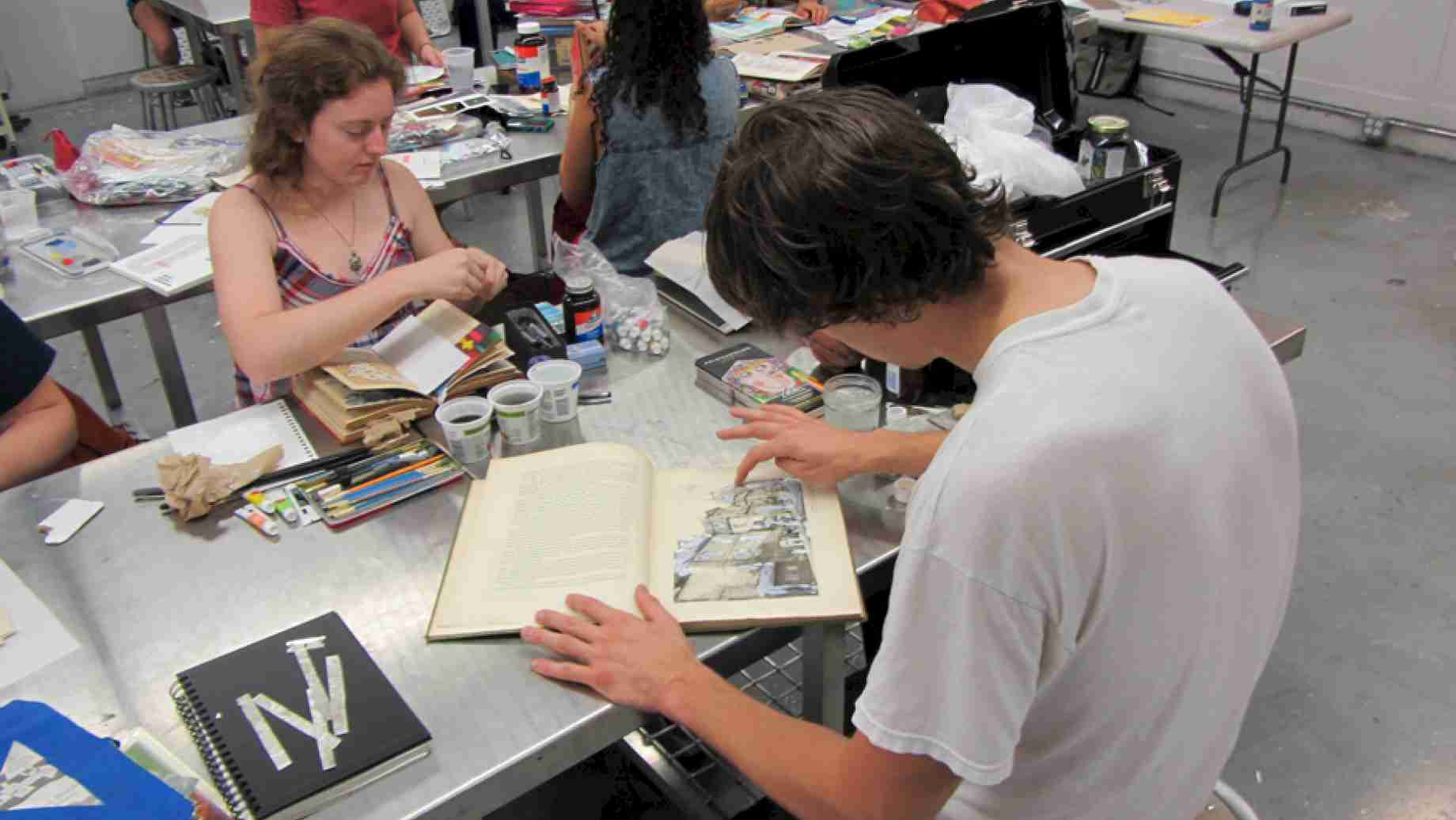 Sketchbook: Students learn to transform existing material into projects that resonate with new associations