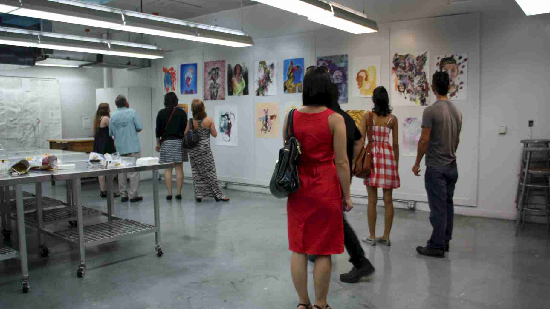 Art Bash: Every year, SAAH opens its doors to the public for a variety of programming including open studios, classroom exhibitions, demos and more