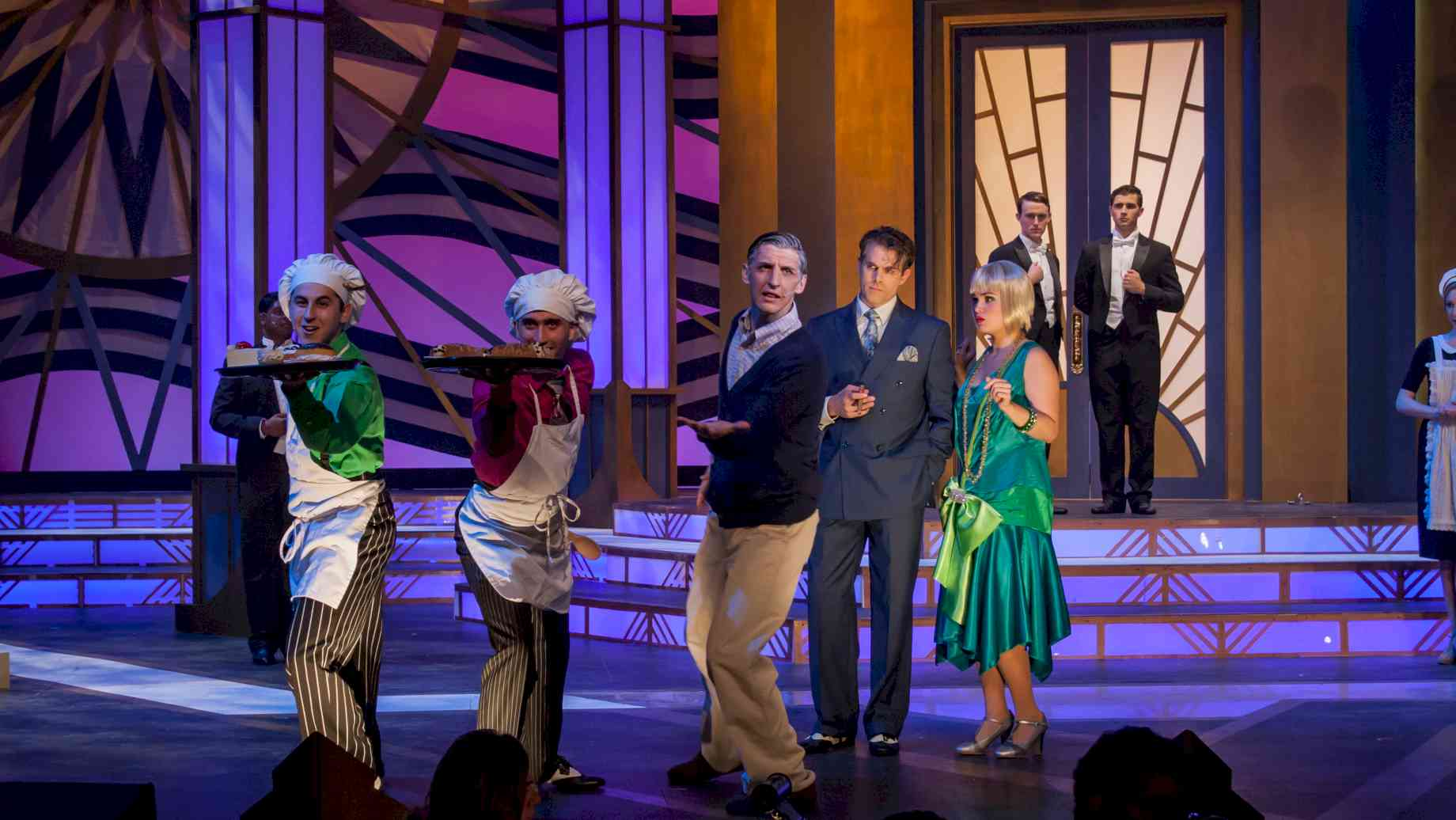 The Drowsy Chaperone, Fall 2015. Photo: Suzanna Mars.