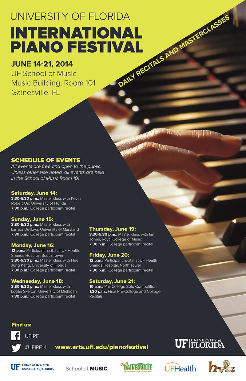 university of florida hosts 2014 international piano