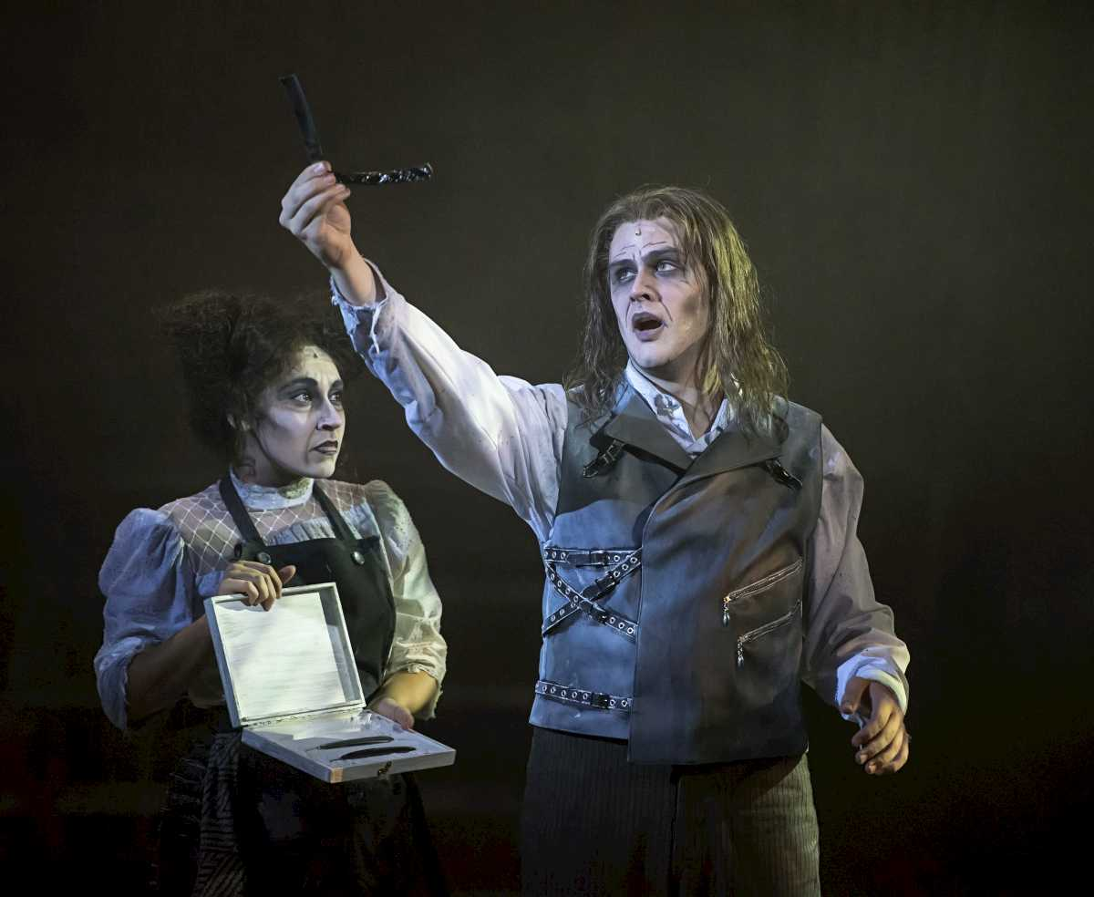 sweeney todd analysis essay Sweeney todd: the demon barber of fleet street is a 1979 musical thriller with music and lyrics by stephen musical analysis in his essay for the 2005 cast.