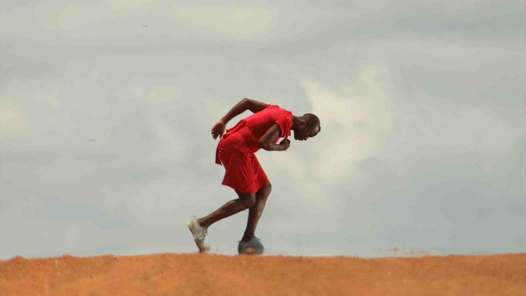 Nora Chipaumire returns to the red clay and vast sky of her Zimbabwean youth: the opening shot of NORA.
