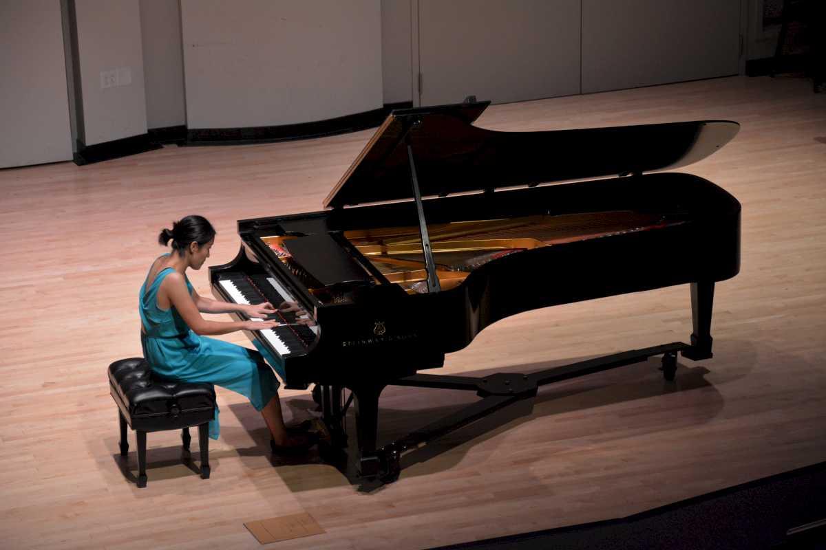Graduate piano recital at indiana university