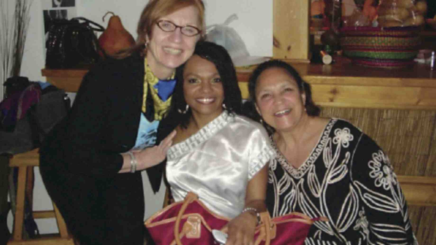 "(From left to right) Joan Frosch, Janete Silva, and Yvonne Daniel featured at the ""African Dance in the Diaspora"" Conference in January 2012."
