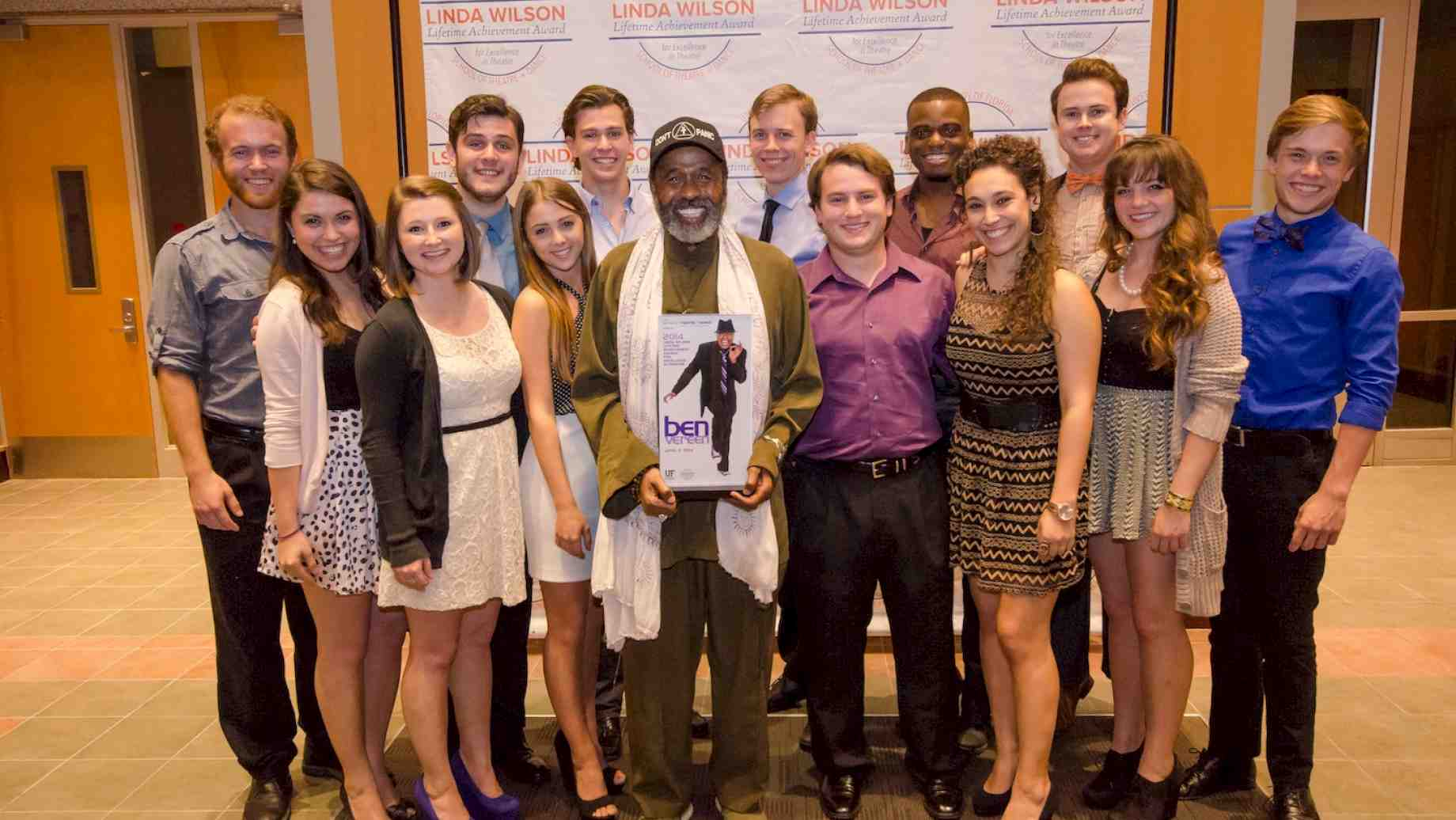 Ben Vereen with Musical Theatre students