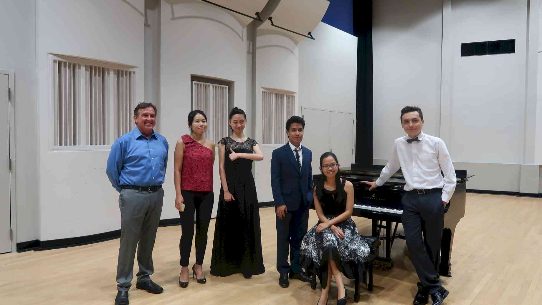 After the participant recital
