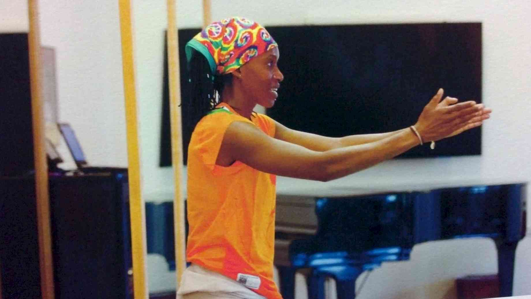 As part of the Africa Contemporary Arts Consortium, Barakissa participated in the Bates Dance Festival, Lewiston Maine, Summer 2013.