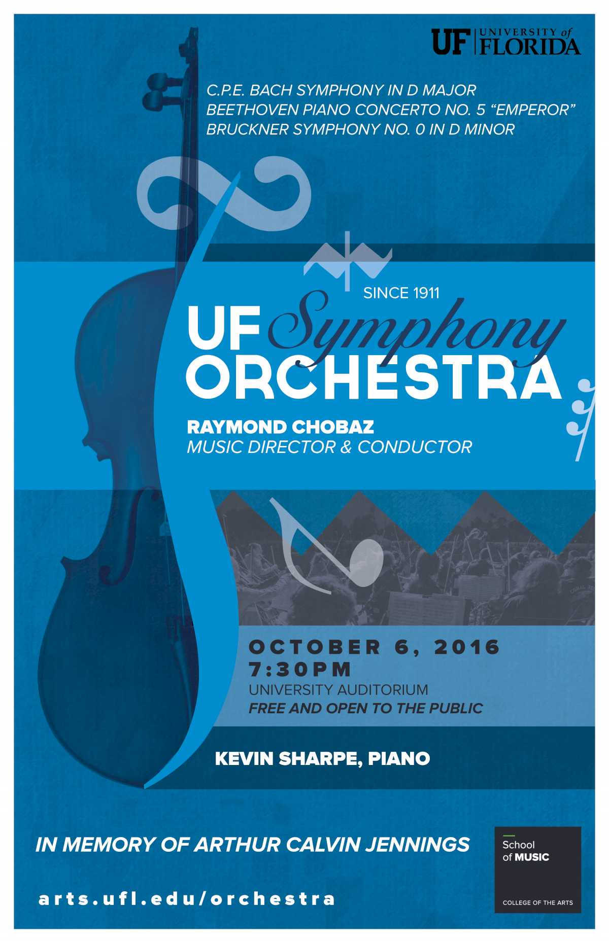 UF Symphony Orchestra - rescheduled for October 11 | Events