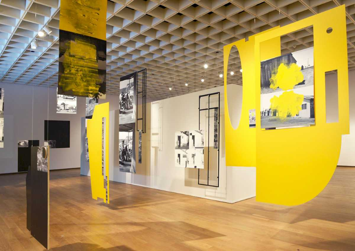 Sergio Vega\'s installation \