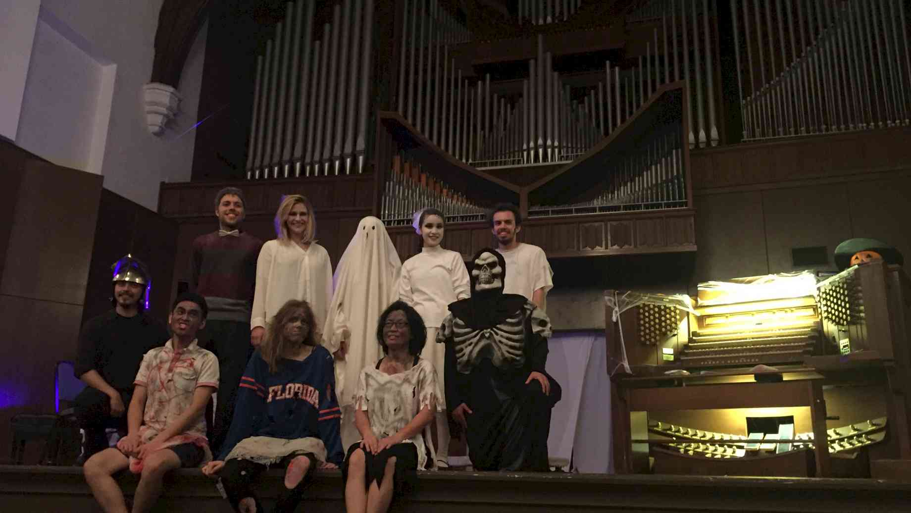 Organ Studio, Halloween 2016