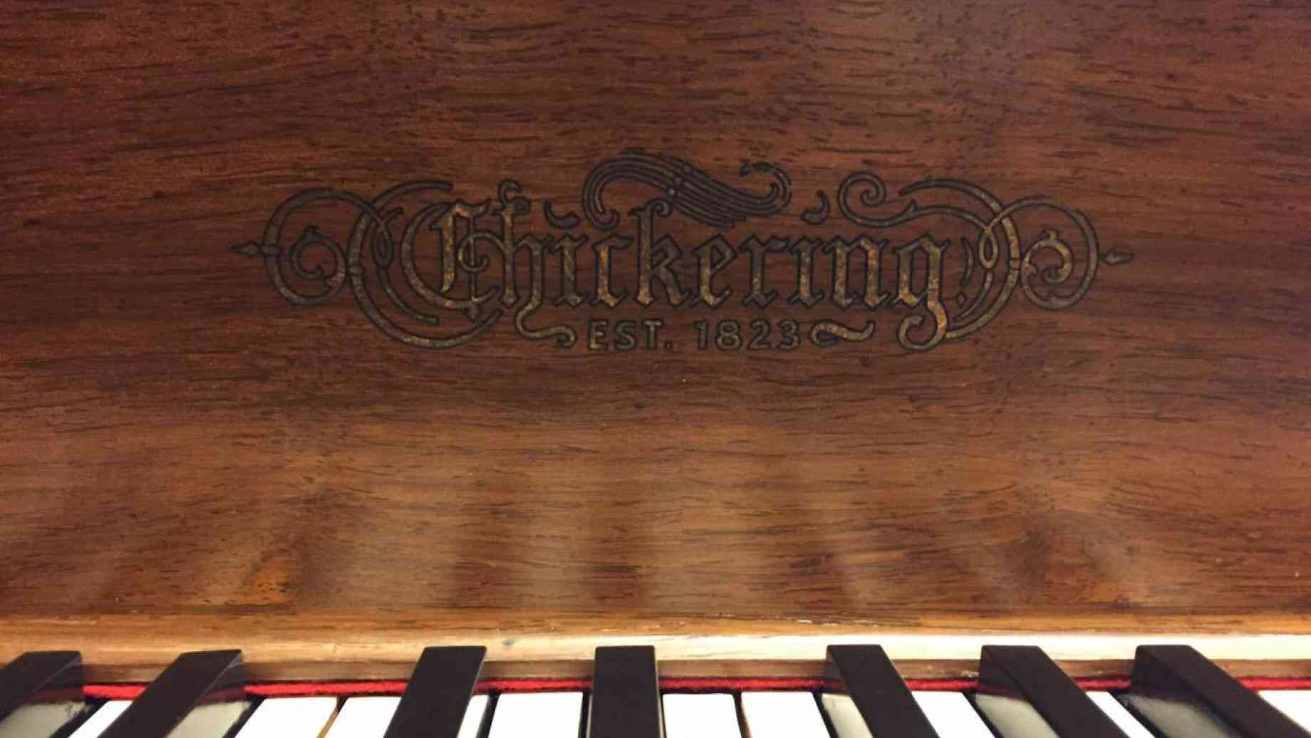 Chickering namplate