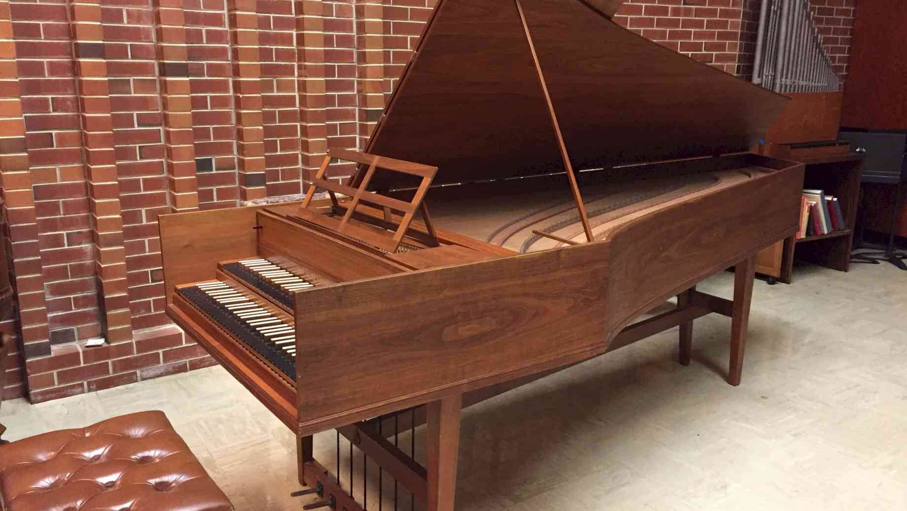 Herz Double Harpsichord