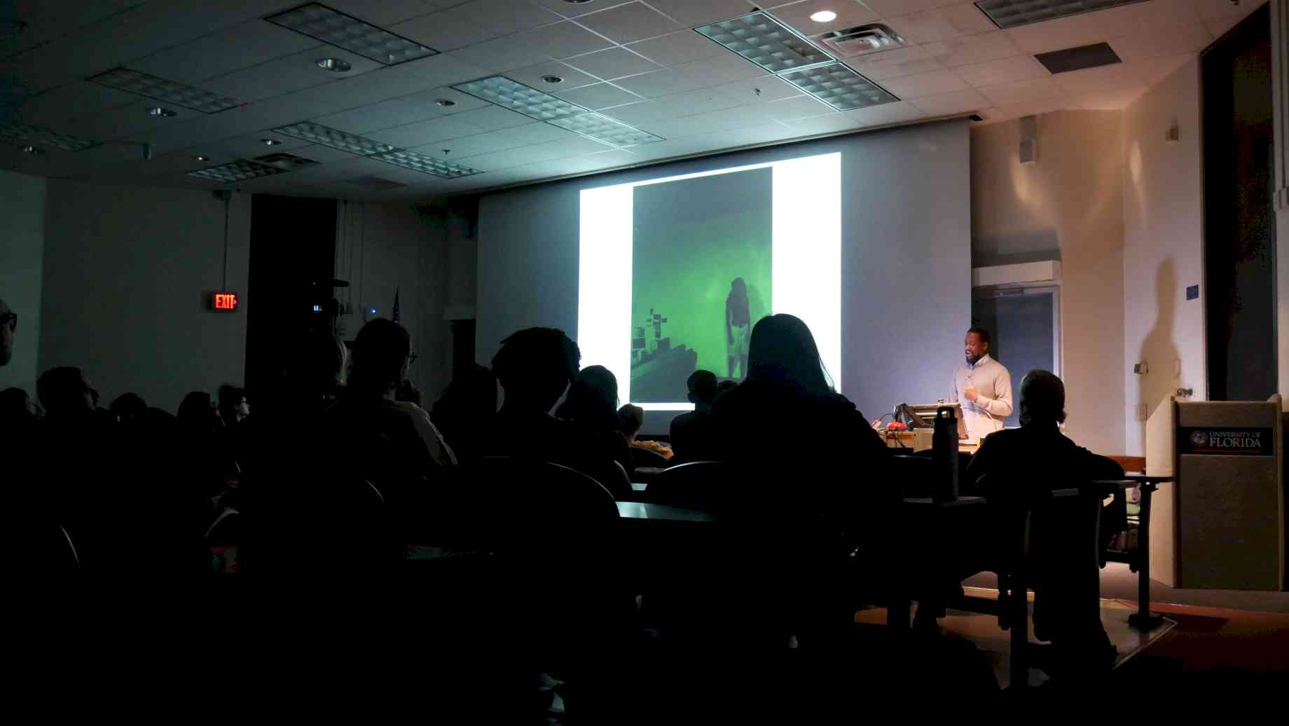 Visiting Artist lecture with Adler Guerrier