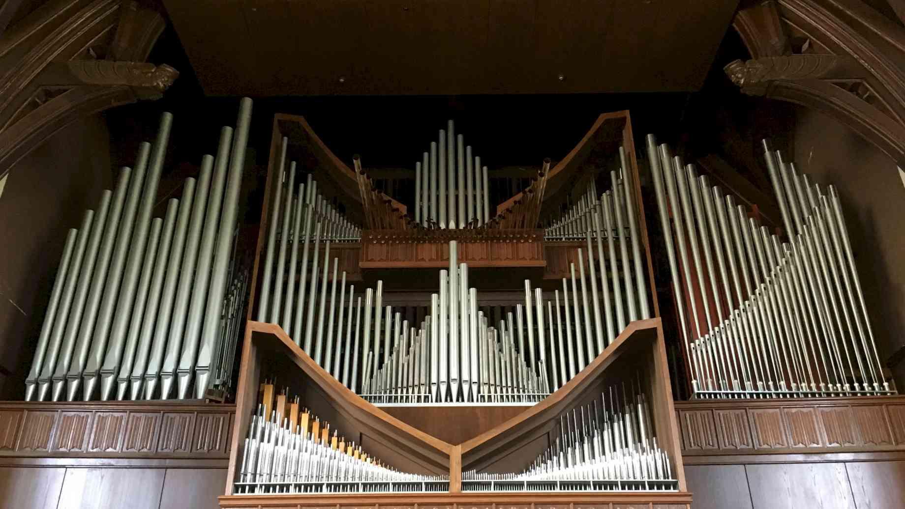 the university auditorium organ
